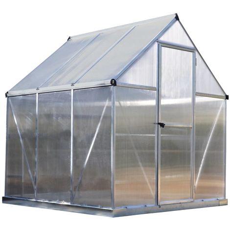 Invernadero de policarbonato Multiline 3,4 m²
