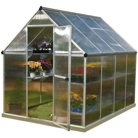 Invernadero de policarbonato Multiline 4,6 m²