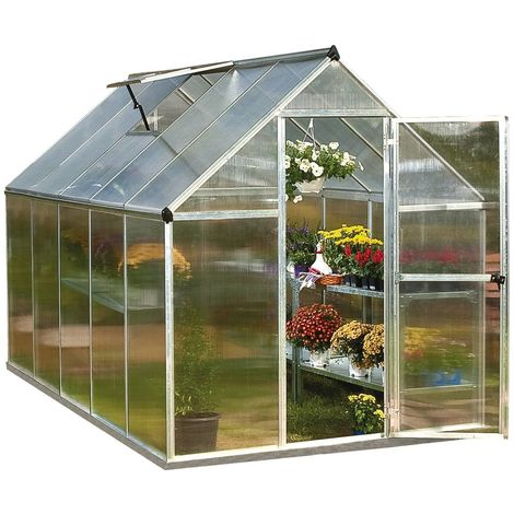 Invernadero de policarbonato Multiline 5.6m2