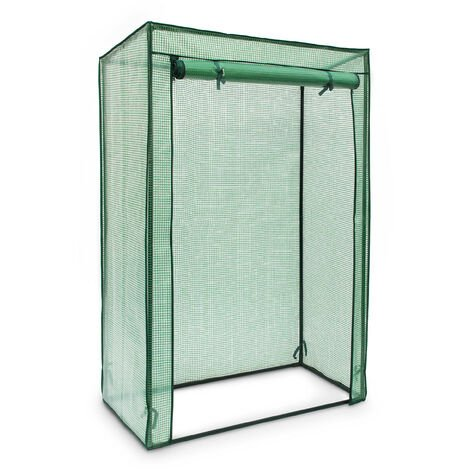 - Invernadero de tomates, cubierta de PE, 150 x 100 x 50 cm, transparente o color verde