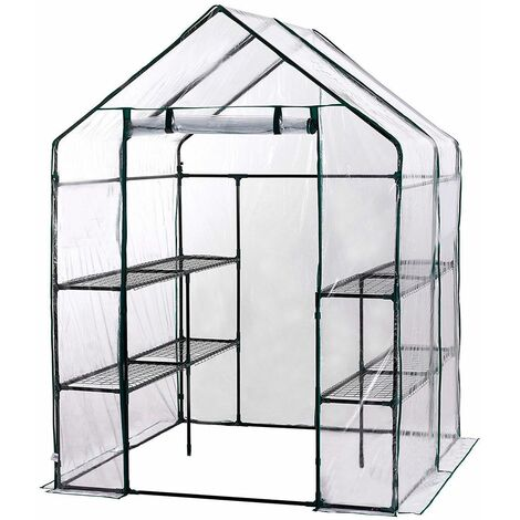 Invernadero Doble PVC Leaf - KIG12960 - GARDIUN