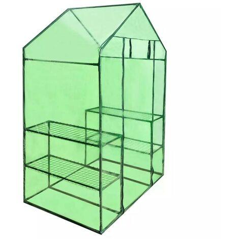Invernadero doméstico con 4 estantes