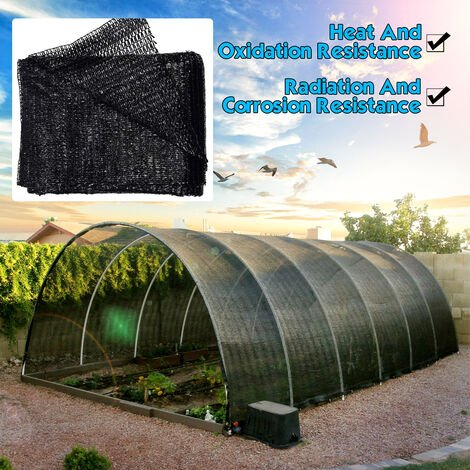 Invernadero neto de la tela de la cortina del paño de la sombra de la protección solar del 50%