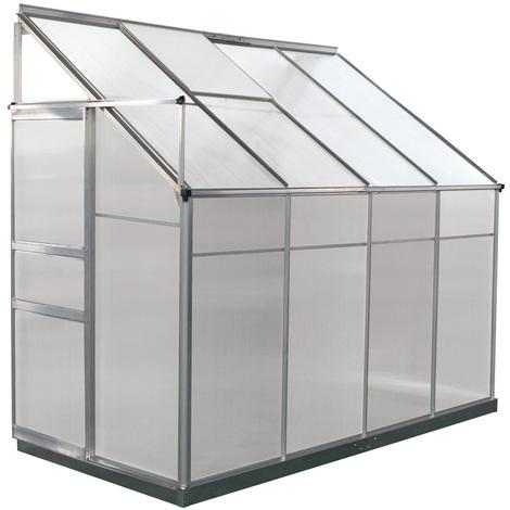 Invernadero para jardín en policarbonato Camelia - 3.15 m²
