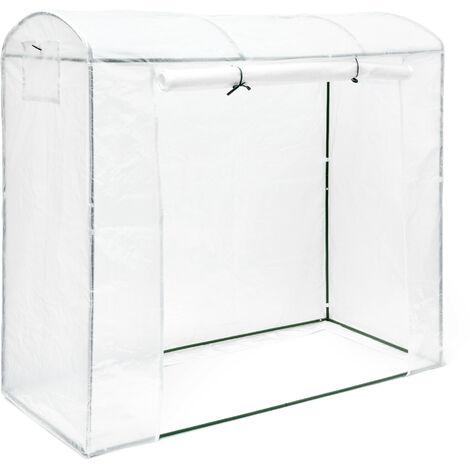 - Invernadero para tomates con techo redondeado TAMARA XL, 170 x 200 x 82 cm, protección contra UV, color verde