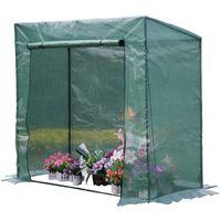 Invernadero para tomates Petunia- 1.6m² - 2 x 0.77 x 1.69 m