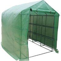 Invernadero para tomates Petunia- 4.4m² - 2.5 x 1.7 x 2.1 m