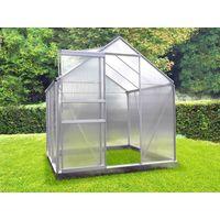 Invernadero policarbonato 46 + Base- 2,30 m2
