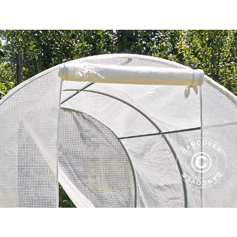 Invernadero túnel 2x3x1,75m, 6m², PE, Transparente