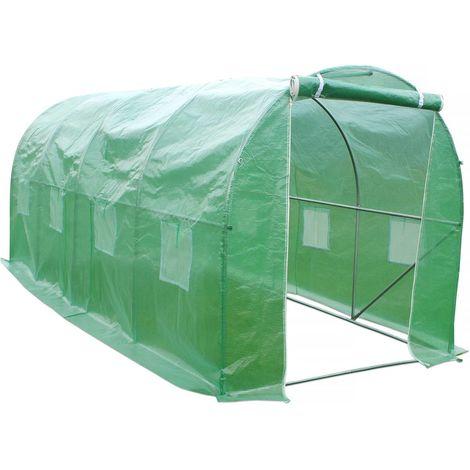 Invernadero tunel de jardín Althea - 12m² - 4 x 3 x 2 m