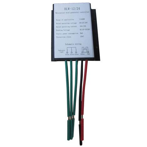 Inverseur de controleur de haute efficacite de controleur d'eolienne de commutation automatique de 400W 12V / 24V