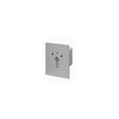 Inverseur extérieur filaire à clé position fixe montage encastré IP54SOMFY - 1850050.