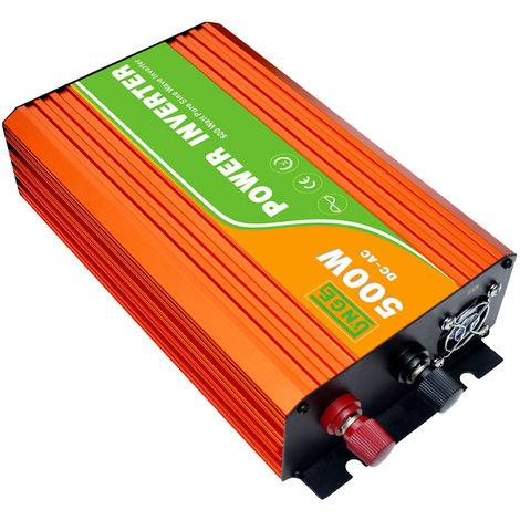 Inversor continuo de onda sinusoidal pura, 110V 500W de alta frecuencia
