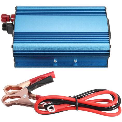 Inversor de coche de 3000 W DC 12/24/48 / 60V a AC 220V Transformador de voltaje de onda sinusoidal pura Invertir energía solar para camión de coche