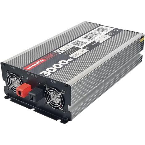 Inversor de Corriente Continua en Alternada, 3000W-6000W - MADER®   Power Tools