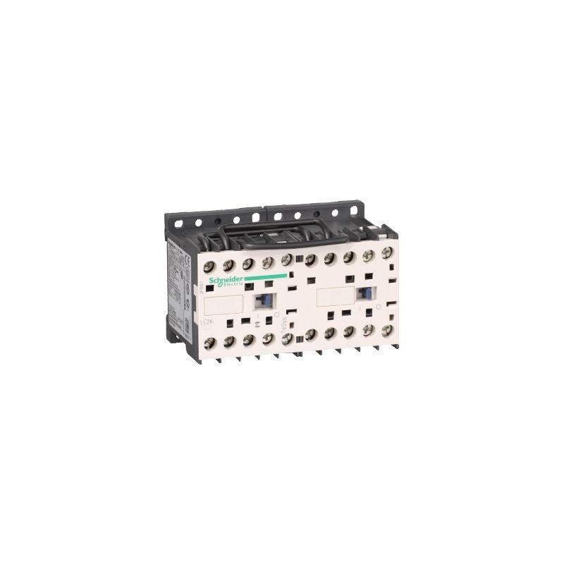 Schneider Electric LC2K0910E7 Contactor Inversor 3P Ac-3 =440 V 9 A Bobina 48 V Ca