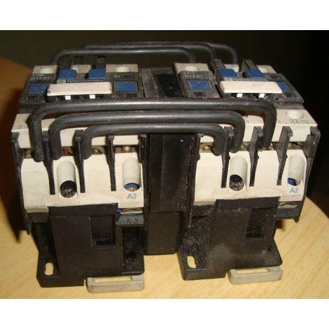 Inversor motor eléctrico trifásico 10CV con contactores 18A bobina 230Vac