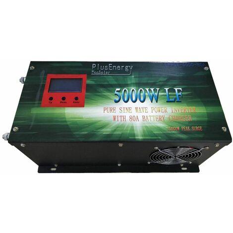Inversor solar 5000w 12v Onda pura / Cargador 80A