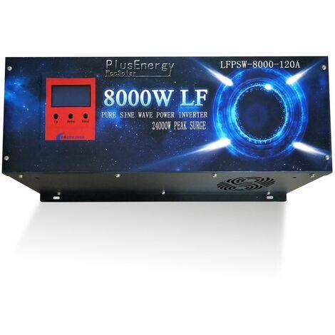 Inversor solar 8000w 12v Onda pura / Cargador 120A