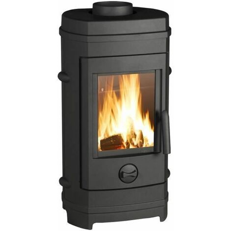 INVICTA Remilly 7 kW Poele a bois Flamme Verte 7* - Bûches 34 cm