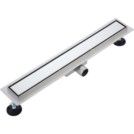 Invisible floor drain 2 in 1 70cm in stainless steel