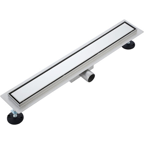 Invisible floor drain 2 in 1 80cm in stainless steel