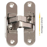 Invisible hinge for 40 kg door right Klose Besser