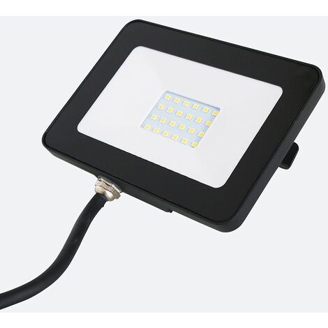 Ip65 20W LED Slimline Outdoor Security Floodlight - Neutral White