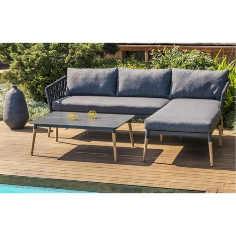Ipanema Woven Corner Outdoor Sofa Set by Lifestyle Garden - IPANEMA ...