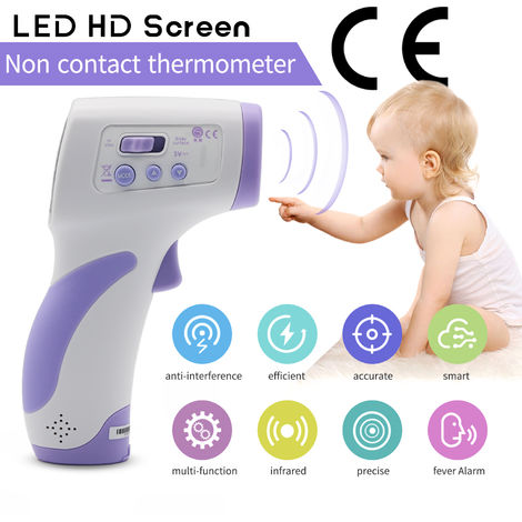 IR Infrared Digital Forehead Fever Thermometer No-Contact Baby / Adult