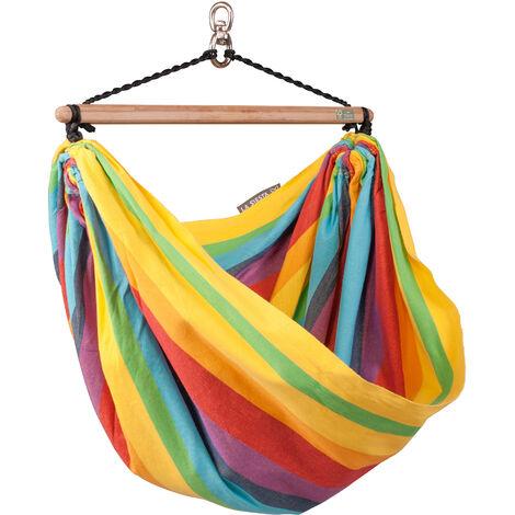 Iri Rainbow - Chaise-hamac enfant en coton - Multicolore