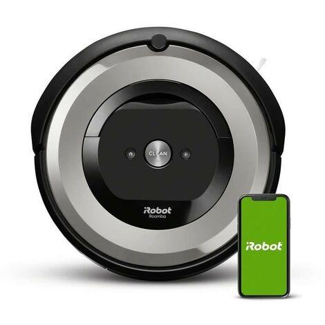 IROBOT Aspirateur robot connecté ROOMBA E5154 - Batterie 1800 mAh Lithium Ion - 0,6 L