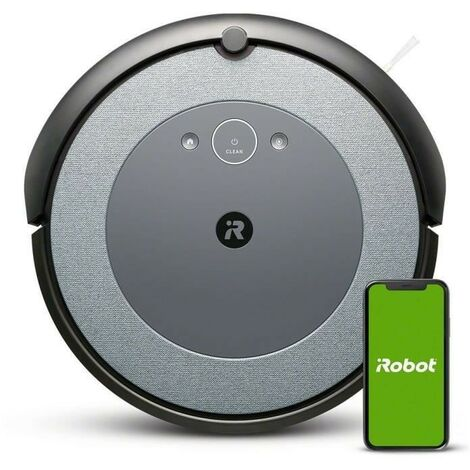 iRobot Roomba i3152 - Aspirateur robot - Bac 0,4L - Batterie Lithium-iOn - Capteurs Dirt Detect - iRobot Home