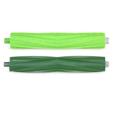 iRobot Roomba i7 i7 + / i7 Plus E5 E6 E7 Ensemble d'accessoires pour aspirateur 7 pieces (3 brosses laterales + 2 grilles de filtre + 2 brosses principales)