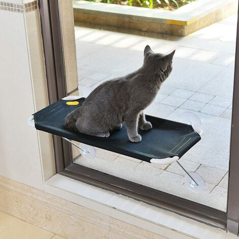 """main image of """"Iron cat perch to put on a window, 360 ° view"""""""