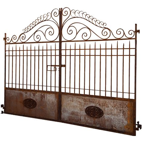 Iron gate L320XD7XH245 CM. MADE IN ITALY