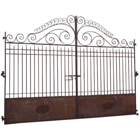 Iron gate L400XD7XH320 CM. MADE IN ITALY