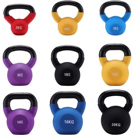 Iron Kettlebell Weight Fitness Strength Training Workout, 14KG