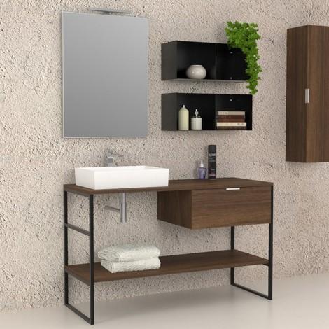 Iron - Mobile completo arredo bagno
