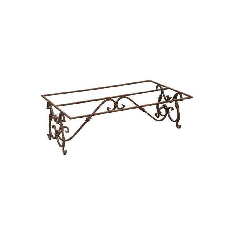 Biscottini - Iron table base L136xPR80xH43 cm