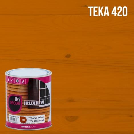 Iruxil protecteur d'eau en bois W Iki Decor Satin | 750 ml - Teka