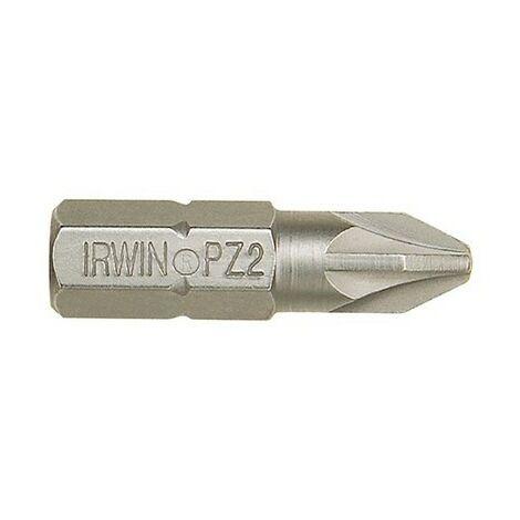 Irwin 10504401 Screwdriver Bits Pozi PZ2 50mm Pack of 2