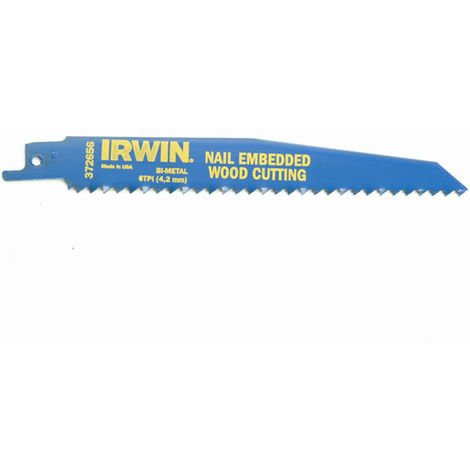 M IRWIN Saw Blade 150mm Nail Embeded Wood Pack of 5 IRW10504155