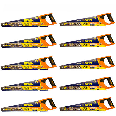 Irwin Jack 880 Universal Panel Hand Saw 20in 8tpi JAK880UN20 Pack of 10