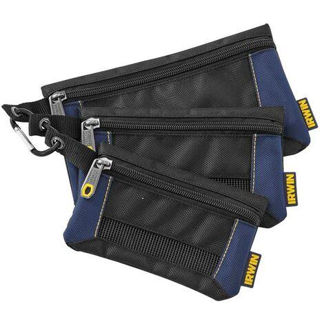 Irwin Pro Tool X3 Small Parts Bags Organisers Defender 2017827 IRW2017827