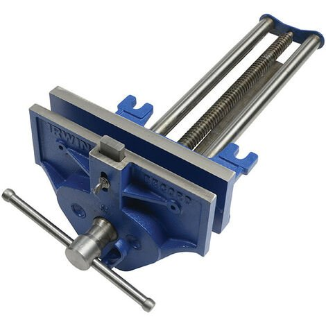 IRWIN Record REC53ED 53ED Woodworking Vice 270mm (10.1/2in) with Quick Release & Dog