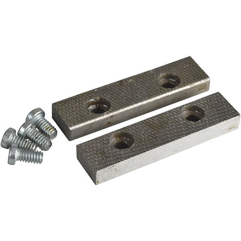 Irwin Record RECPTD3 PT.D Replacement Pair Jaws & Screws 100mm (4in) for 3 Vice