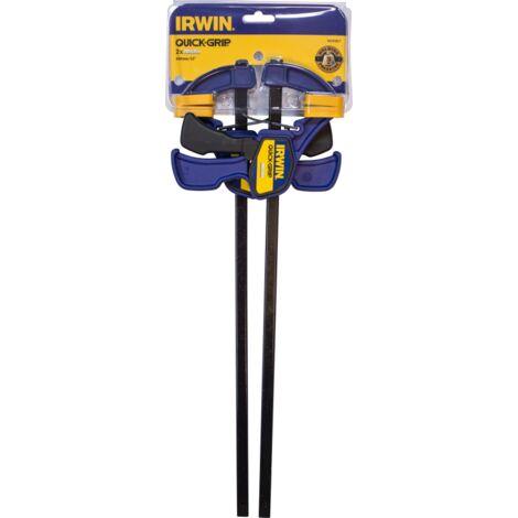 "main image of ""IRWIN T54122EL7 Mordaza Mini 300 mm (12"") - Paquete de 2"""
