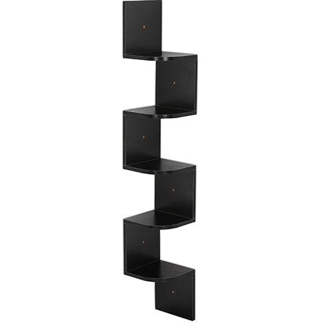 Isabella Scandinavian-style wall shelving unit - Wood