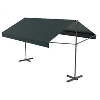 info for 17271 464c1 Iseo - Store banne double pente gris 3780 x 1500 1500 mm. CONCEPT-USINE